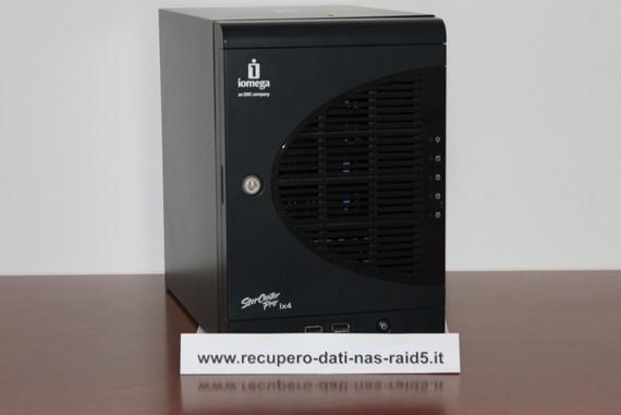 Recupero Dati NAS Iomega Storcenter IX4-100